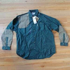 NWT men's Columbia Sharptail button down shirt XXL